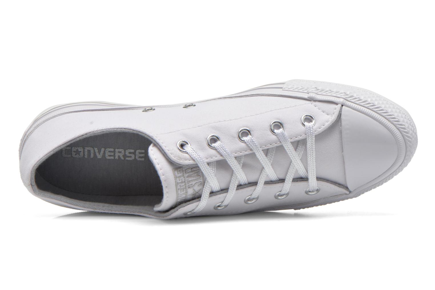 Trainers Converse Chuck Taylor All Star Gemma Twill Ox White view from the left