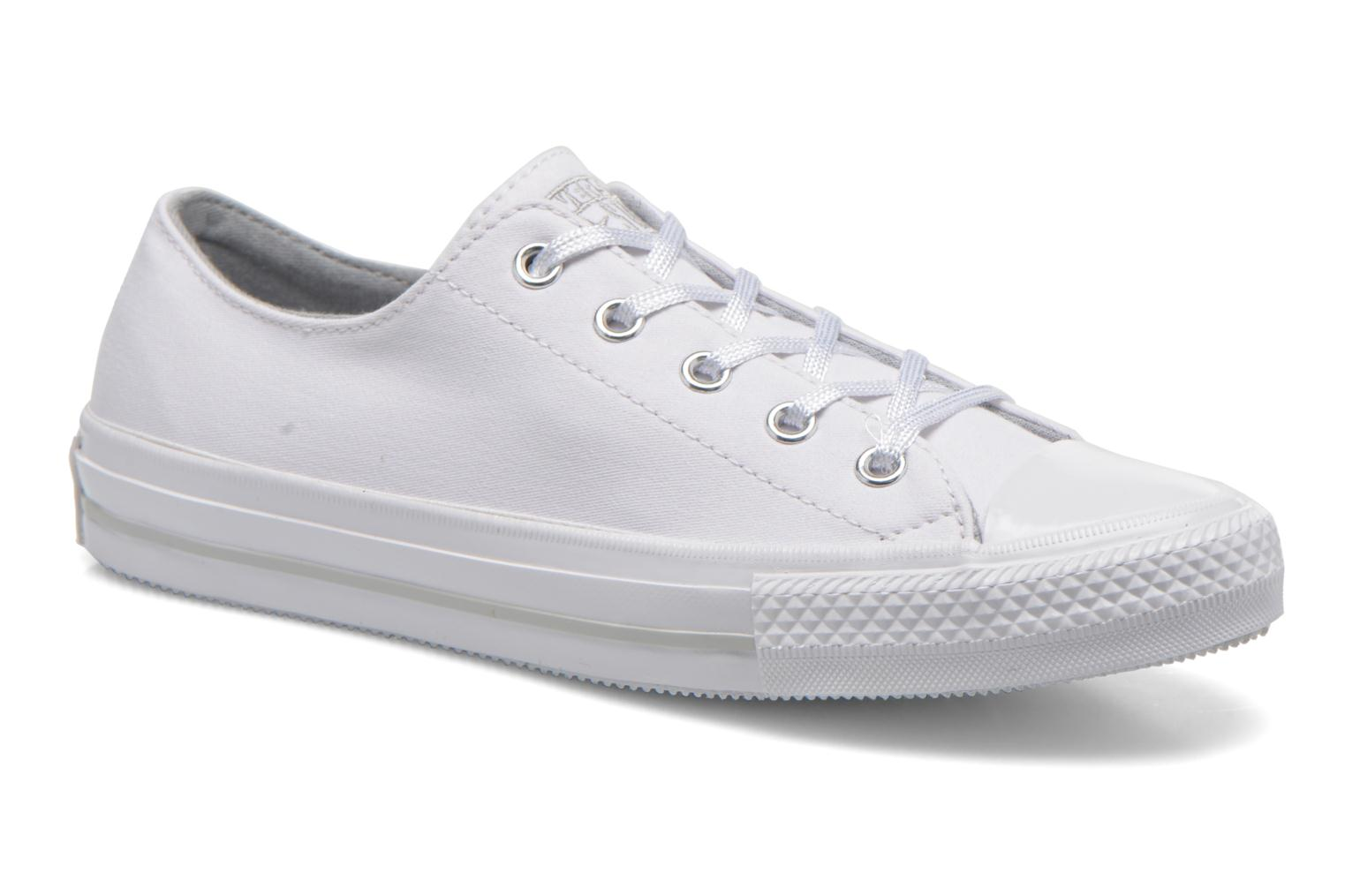 Trainers Converse Chuck Taylor All Star Gemma Twill Ox White detailed view/ Pair view