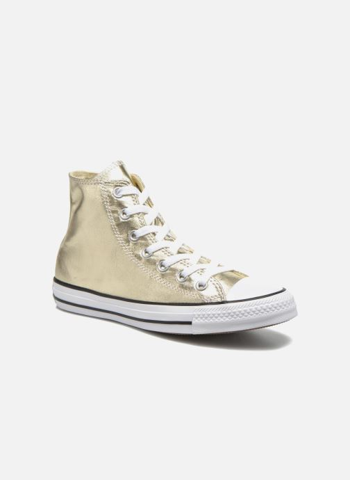 05c68d743a936 Baskets Converse Chuck Taylor All Star Hi Metallics W Or et bronze vue  détail paire
