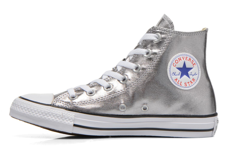 Baskets Converse Chuck Taylor All Star Hi Metallics W Argent vue face