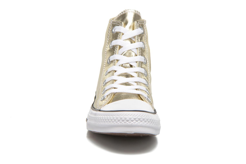 Baskets Converse Chuck Taylor All Star Hi Metallics W Or et bronze vue portées chaussures