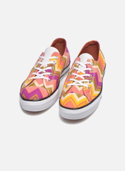 Baskets Converse Ctas High Line Ox W Multicolore vue 3/4