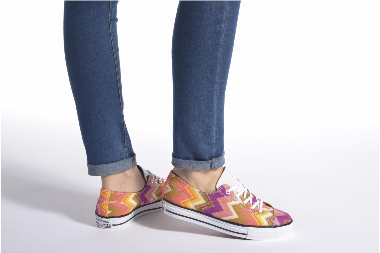 Sneaker Converse Ctas High Line Ox W mehrfarbig ansicht von unten / tasche getragen
