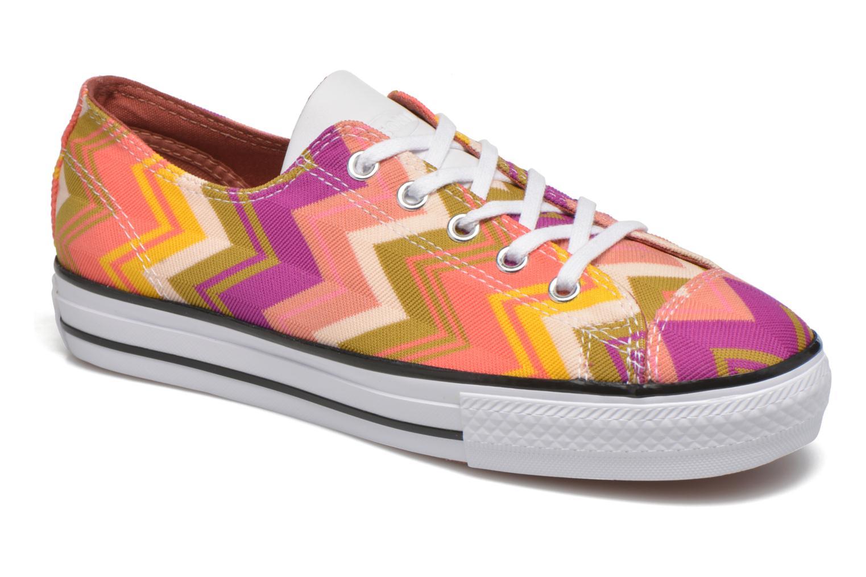 Baskets Converse Ctas High Line Ox W Multicolore vue détail/paire