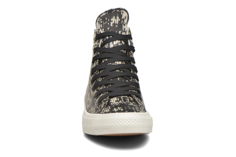 Baskets Converse Chuck Taylor All Star II Rubber Hi M Noir vue portées chaussures