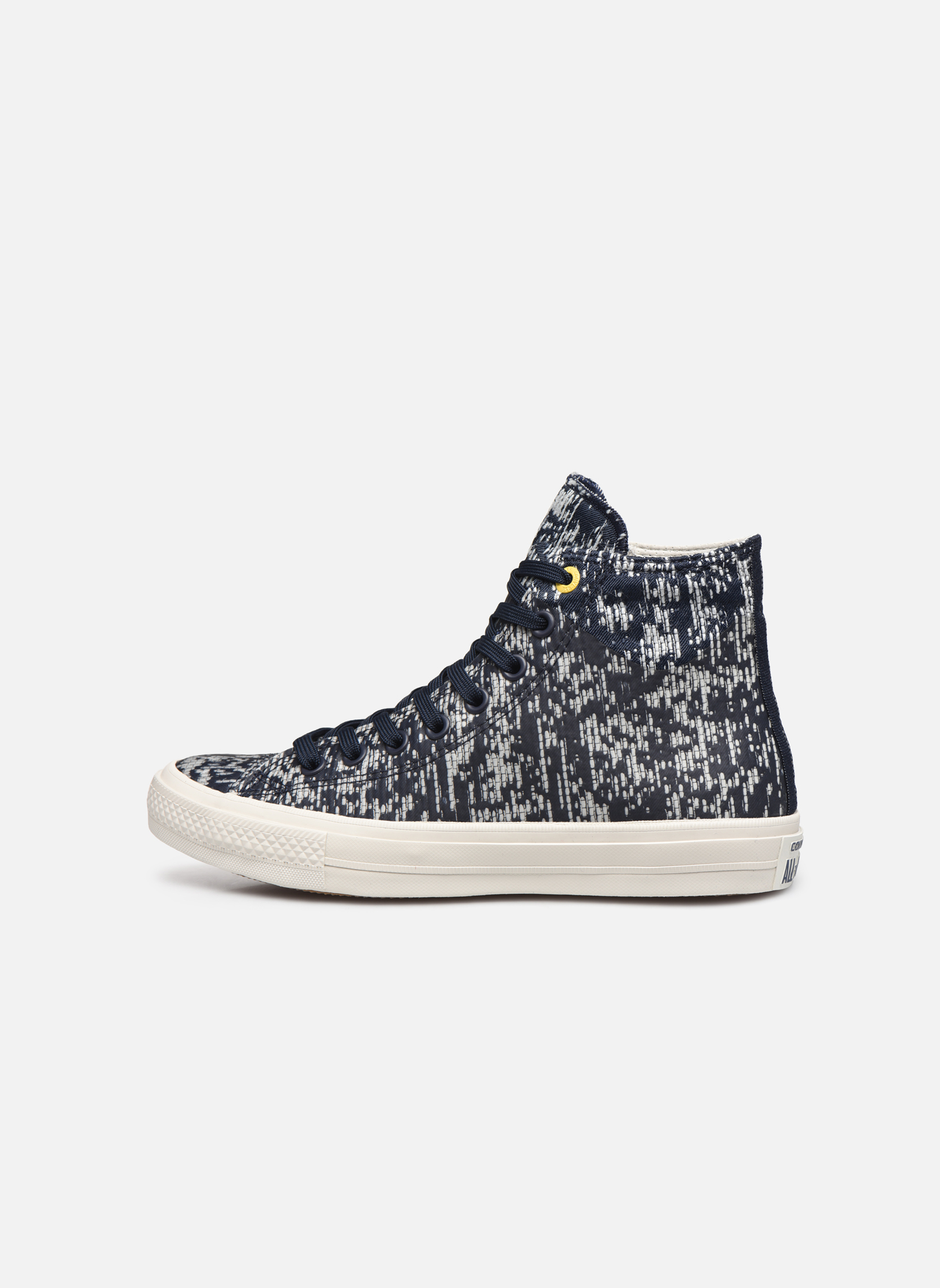 Baskets Converse Chuck Taylor All Star II Rubber Hi M Gris vue face