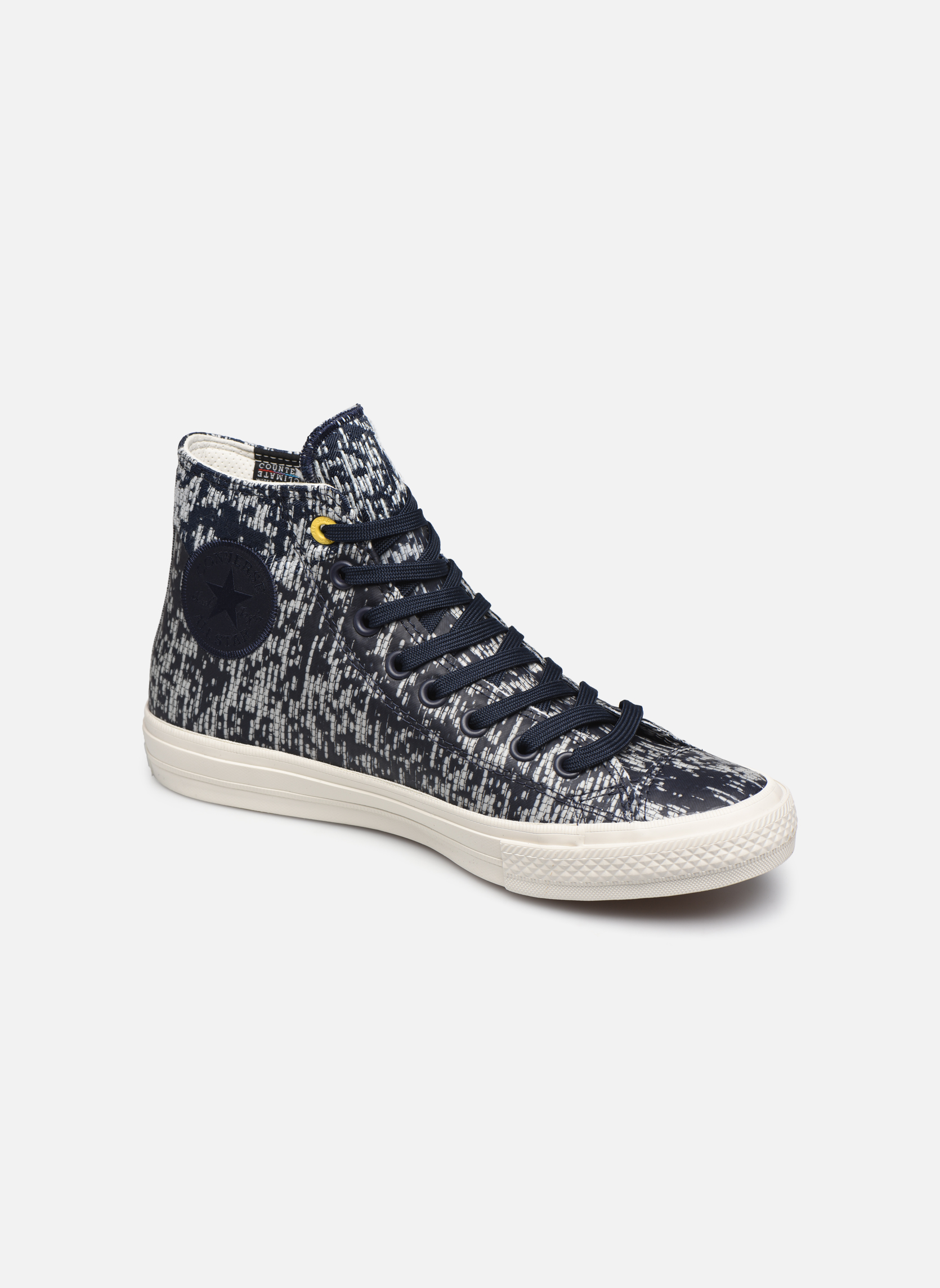 Baskets Converse Chuck Taylor All Star II Rubber Hi M Gris vue détail/paire