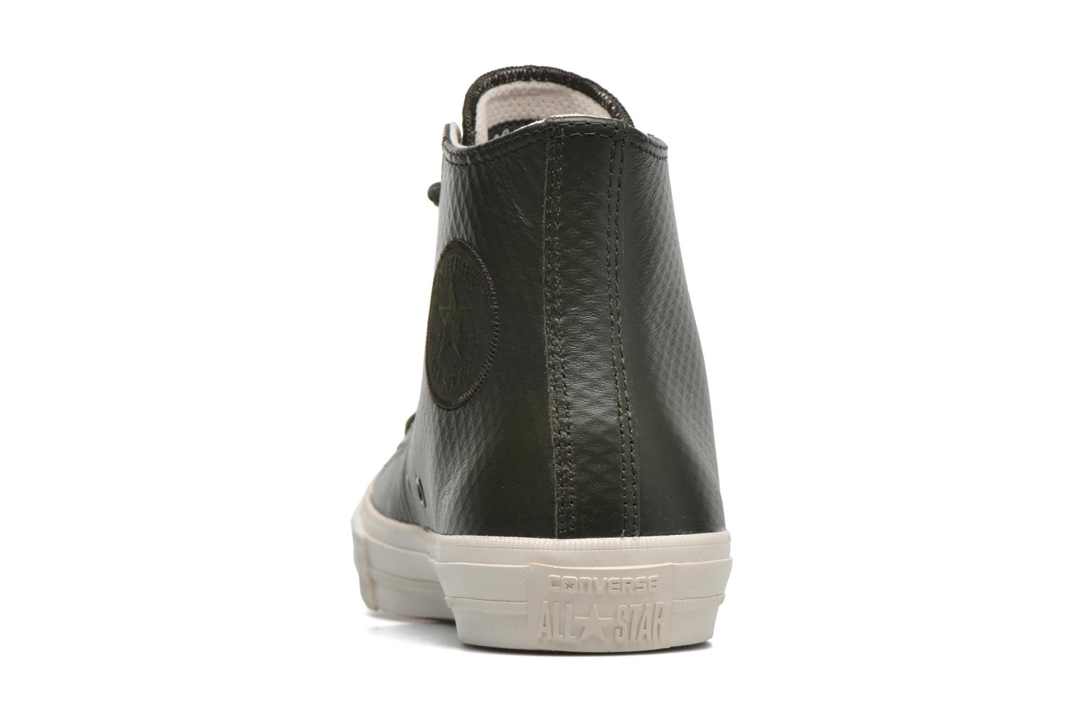 Baskets Converse Chuck Taylor All Star II Mesh-Backed Leather Hi M Gris vue droite