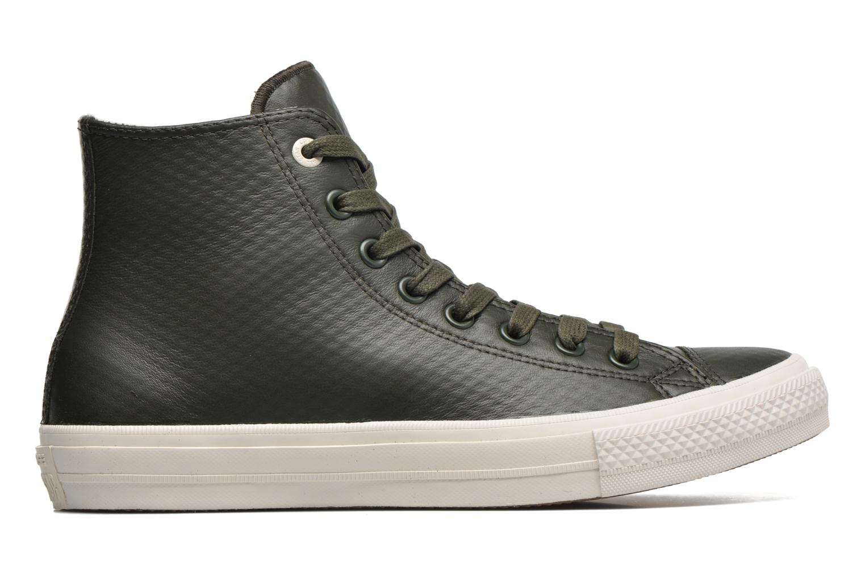 Baskets Converse Chuck Taylor All Star II Mesh-Backed Leather Hi M Gris vue derrière