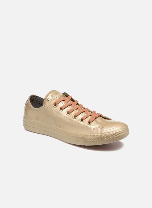 5a1dc25292ad Converse Ctas Metallic Rubber Ox W (Bronze and Gold) - Trainers chez ...