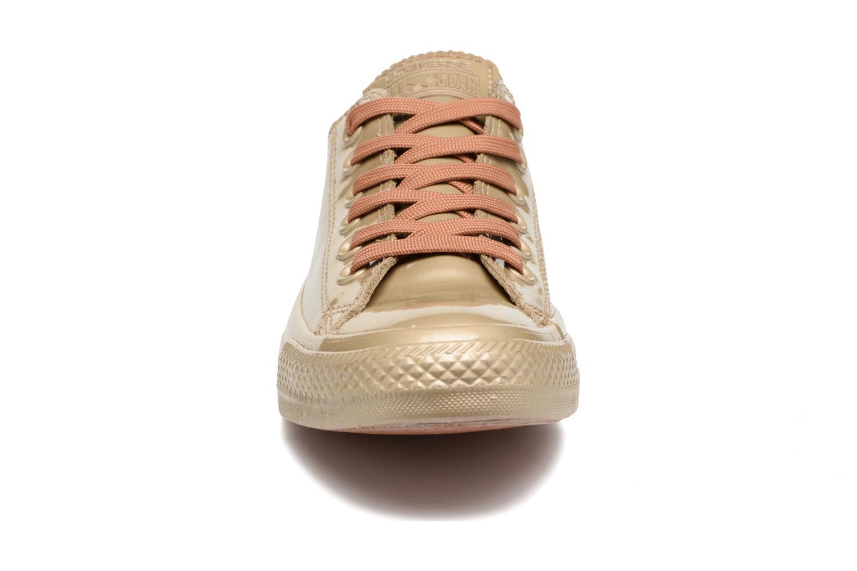 Baskets Converse Ctas Metallic Rubber Ox W Or et bronze vue portées chaussures