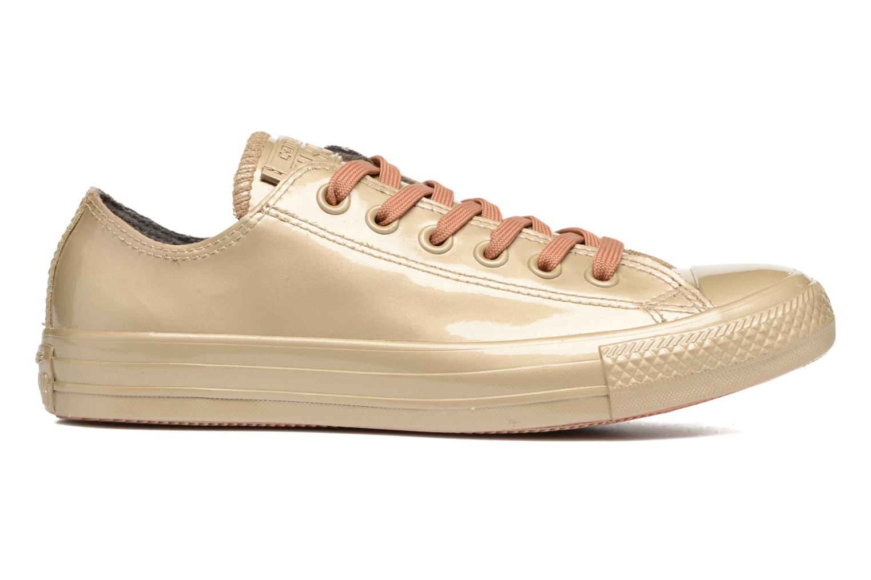Sneakers Converse Ctas Metallic Rubber Ox W Goud en brons achterkant