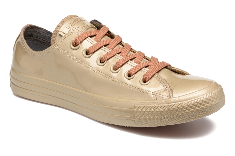 Baskets Converse Ctas Metallic Rubber Ox W Or et bronze vue détail/paire