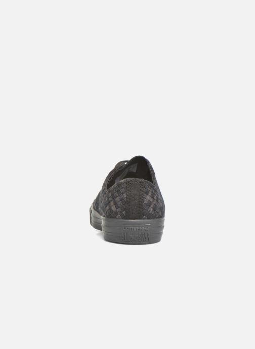 Baskets Converse Ctas Ox M Noir vue droite