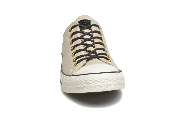 Sneaker Converse Ctas Ox Lthr M beige schuhe getragen