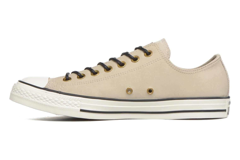 Sneaker Converse Ctas Ox Lthr M beige ansicht von vorne