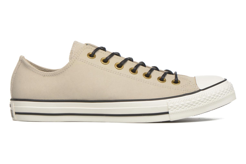 Sneaker Converse Ctas Ox Lthr M beige ansicht von hinten
