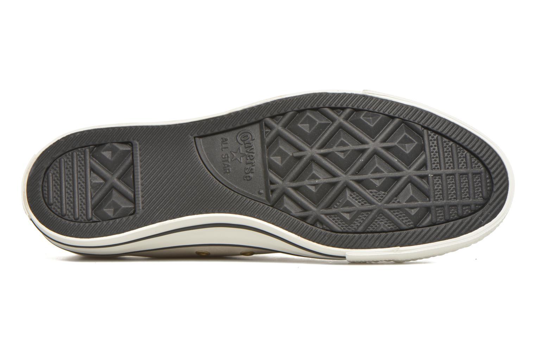 Sneaker Converse Ctas Ox Lthr M beige ansicht von oben
