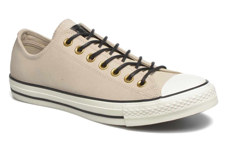 Sneaker Converse Ctas Ox Lthr M beige detaillierte ansicht/modell