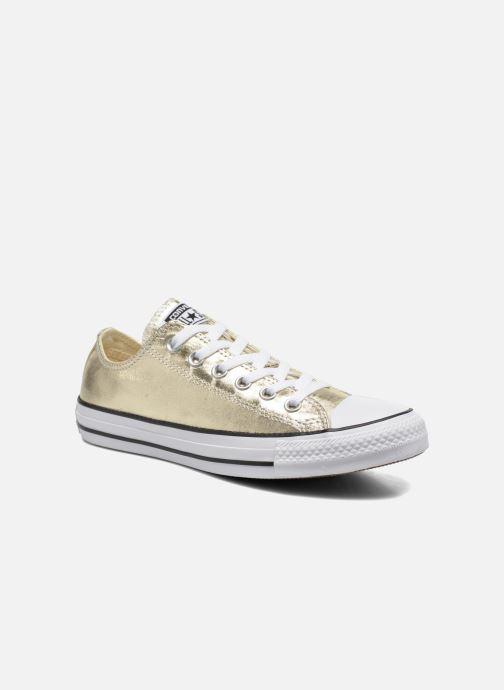 Sneakers Converse Chuck Taylor All Star Ox Metallics W Oro e bronzo vedi  dettaglio paio 7c307448461
