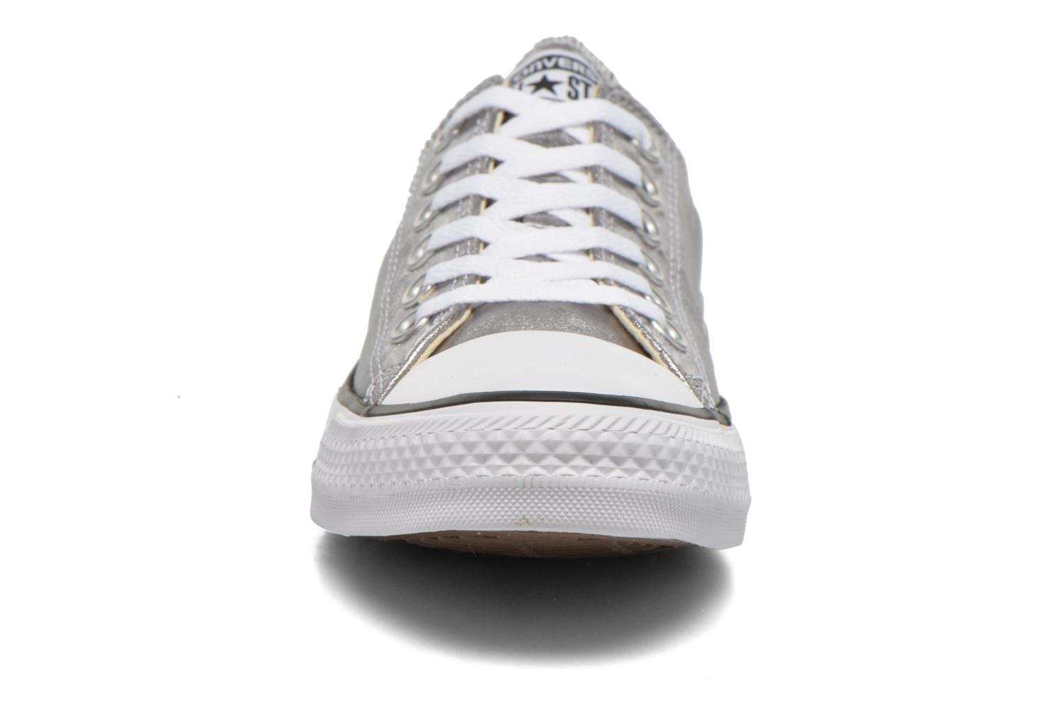 Trainers Converse Chuck Taylor All Star Ox Metallics W Silver model view