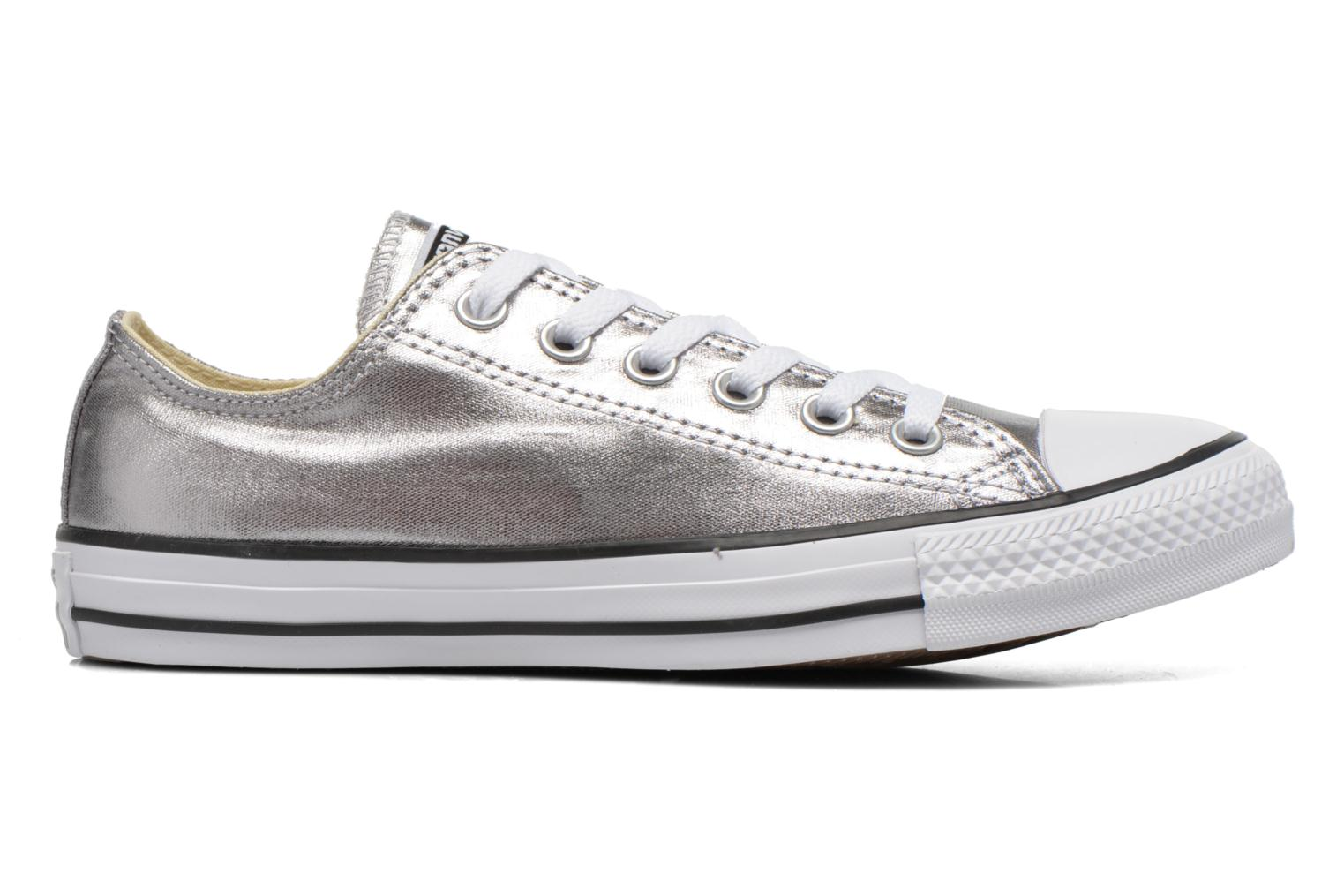 Trainers Converse Chuck Taylor All Star Ox Metallics W Silver back view