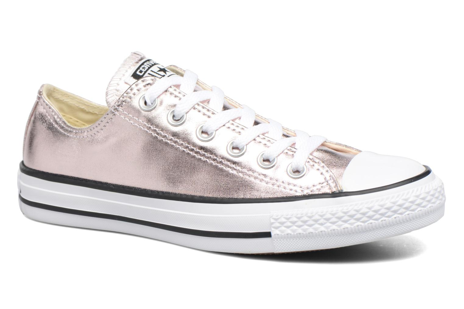Trainers Converse Chuck Taylor All Star Ox Metallics W Bronze and Gold detailed view/ Pair view