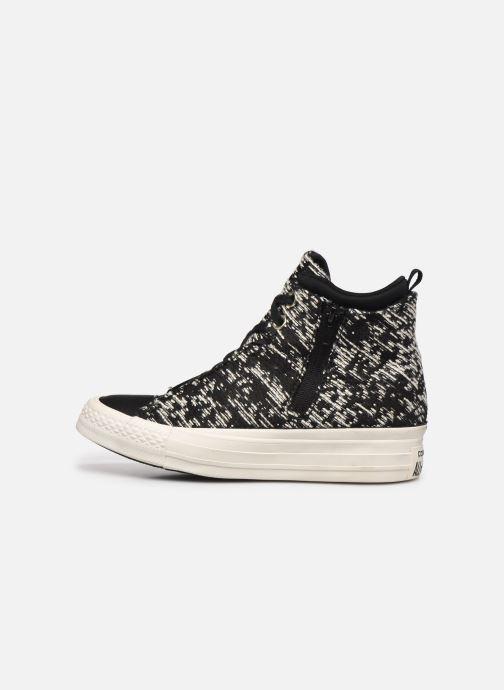 Sneakers Converse Ctas Selene Winter Knit Mid Nero immagine frontale