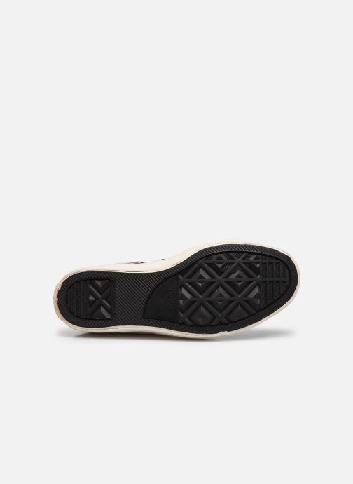 Sneakers Converse Ctas Selene Winter Knit Mid Nero immagine dall'alto