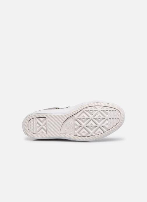 Baskets Converse Ctas Selene Winter Knit Mid Blanc vue haut