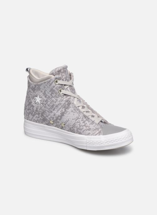 Baskets Converse Ctas Selene Winter Knit Mid Blanc vue détail/paire