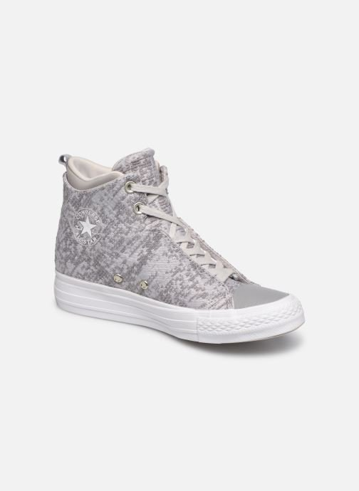 Trainers Converse Ctas Selene Winter Knit Mid White detailed view  Pair view b1a48278d