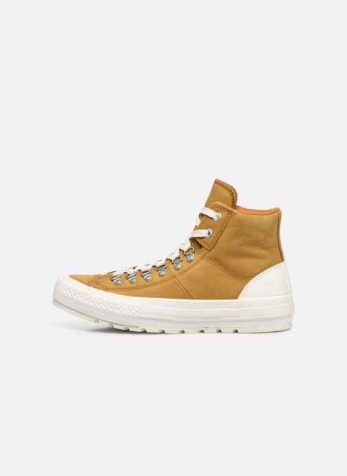 Sneakers Converse Ctas Street Hiker Hi Bruin voorkant