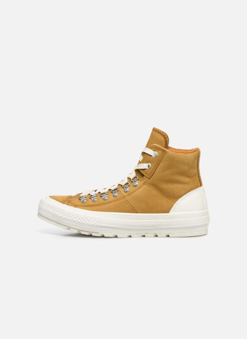 Baskets Converse Ctas Street Hiker Hi Marron vue face