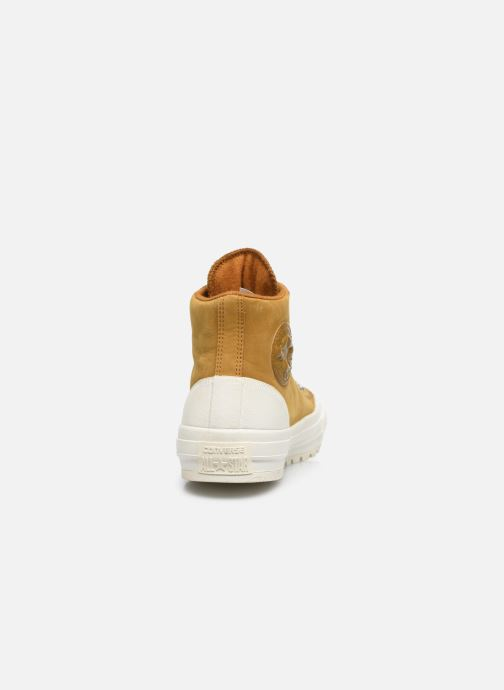 Sneakers Converse Ctas Street Hiker Hi Bruin rechts