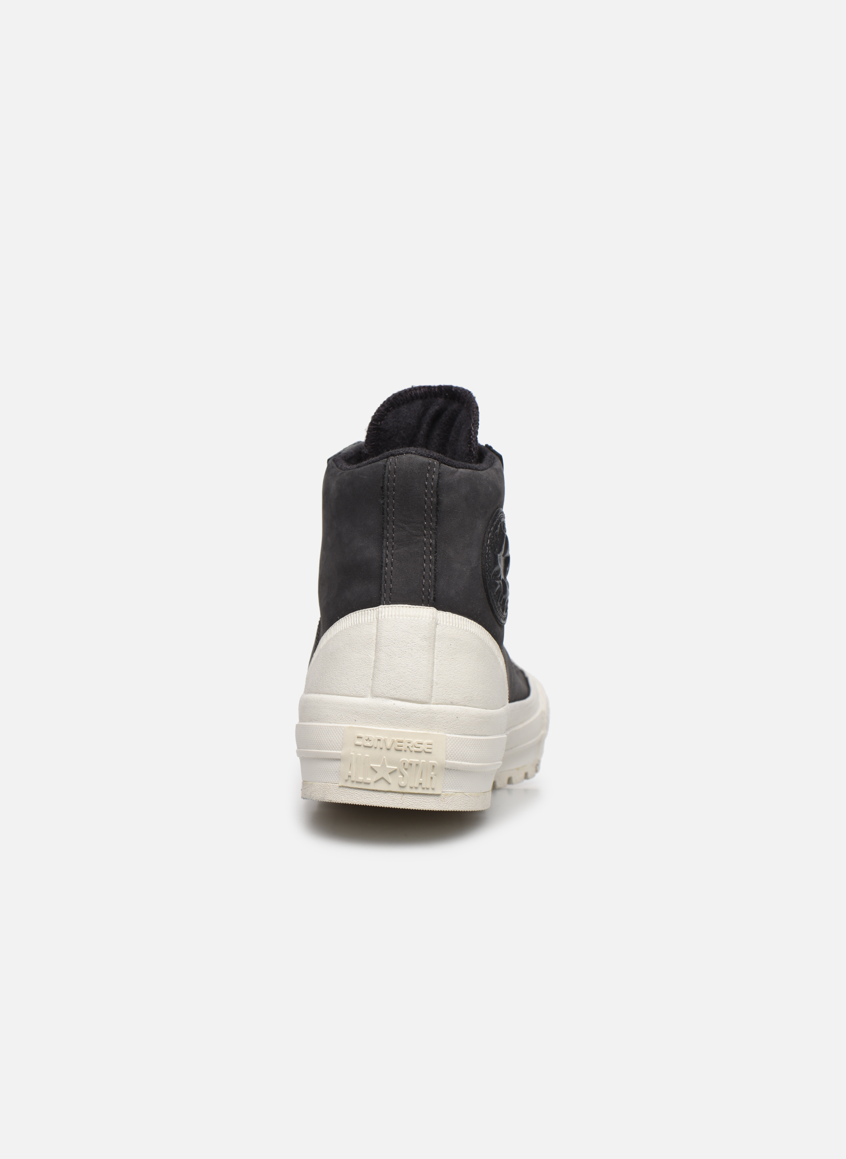 Trainers Converse Ctas Street Hiker Hi Black view from the right