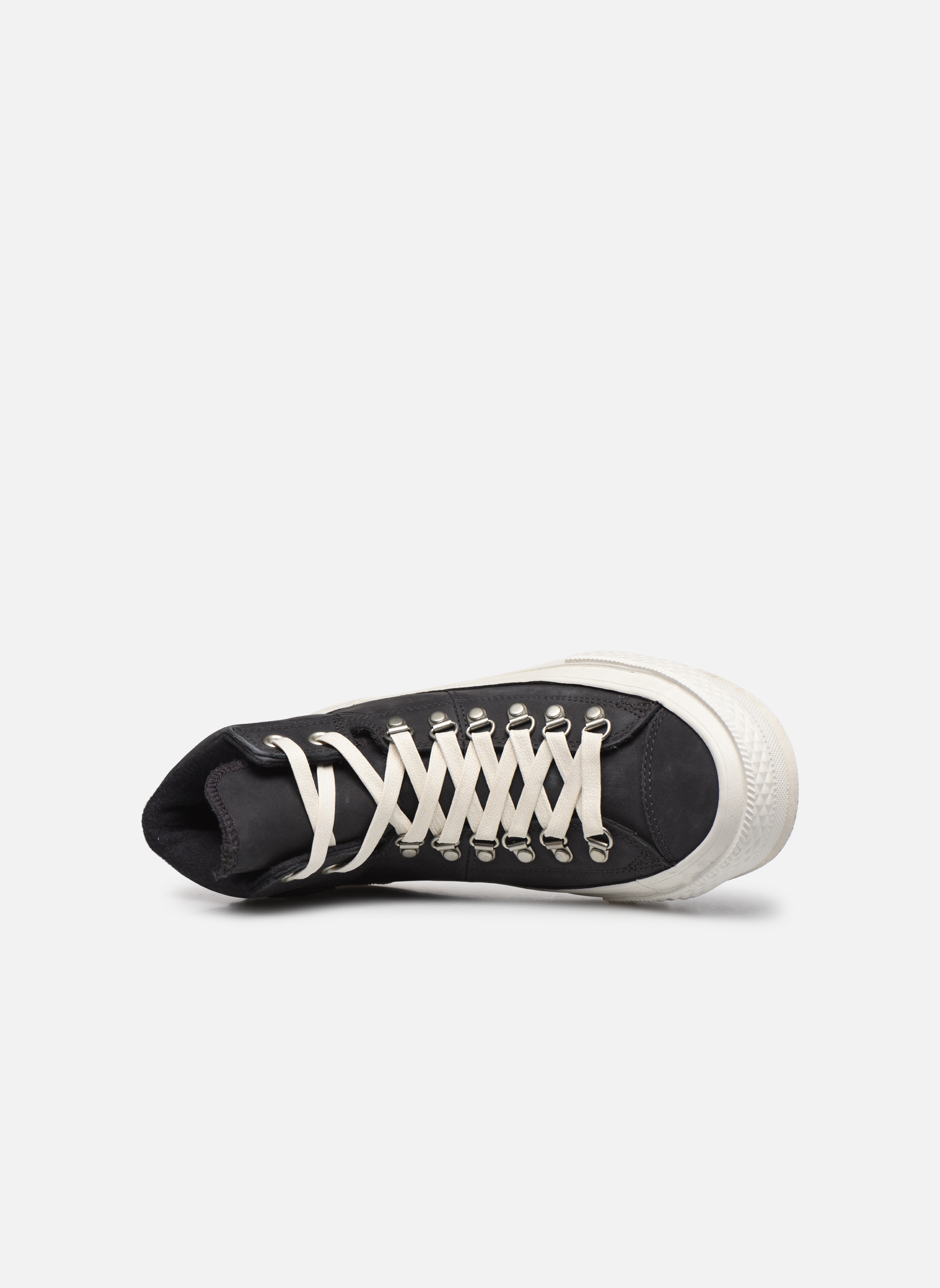 Trainers Converse Ctas Street Hiker Hi Black view from the left