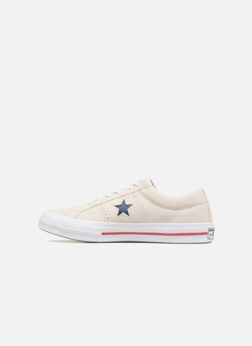 Baskets Converse One Star Ox M Gris vue face