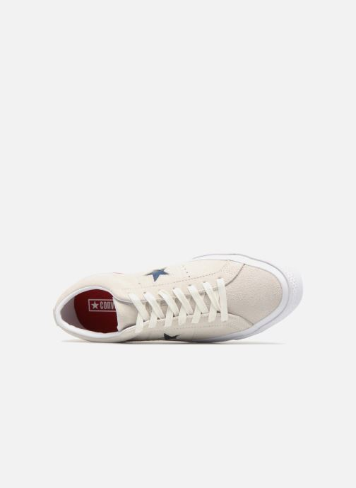 Trainers Converse One Star Ox M Grey view from the left