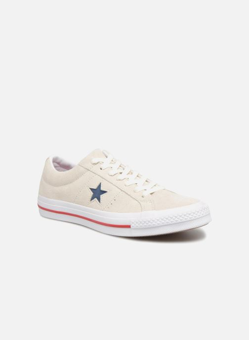 Sneakers Converse One Star Ox M Grijs detail