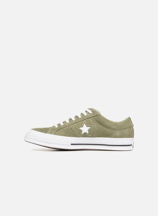 Baskets Converse One Star Ox M Vert vue face