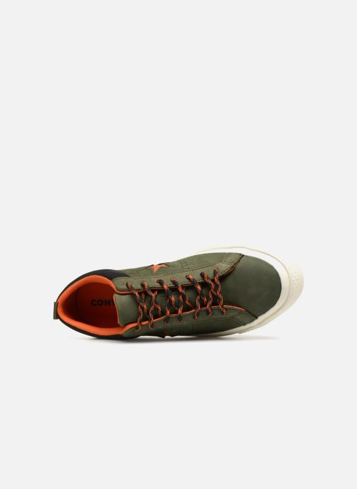 Trainers Converse One Star Ox M Green view from the left