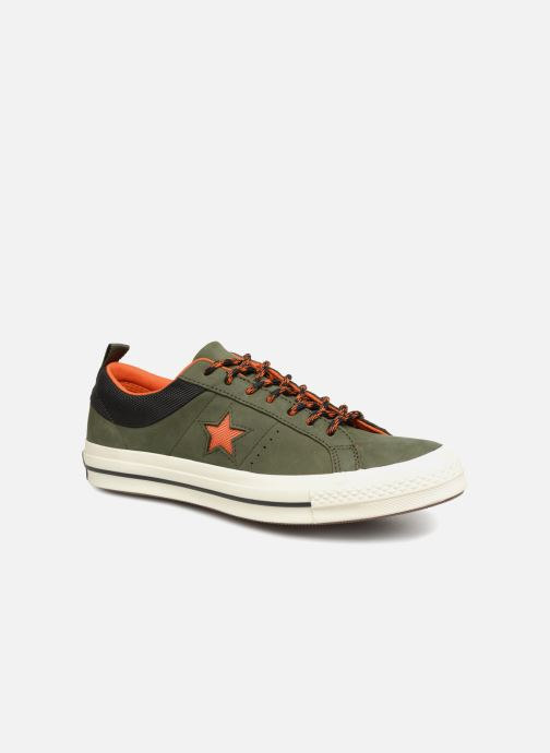 Trainers Converse One Star Ox M Green detailed view/ Pair view
