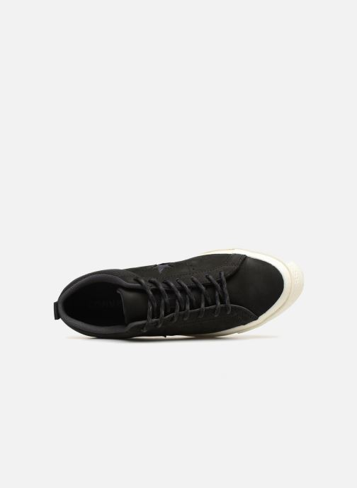 Trainers Converse One Star Ox M Black view from the left