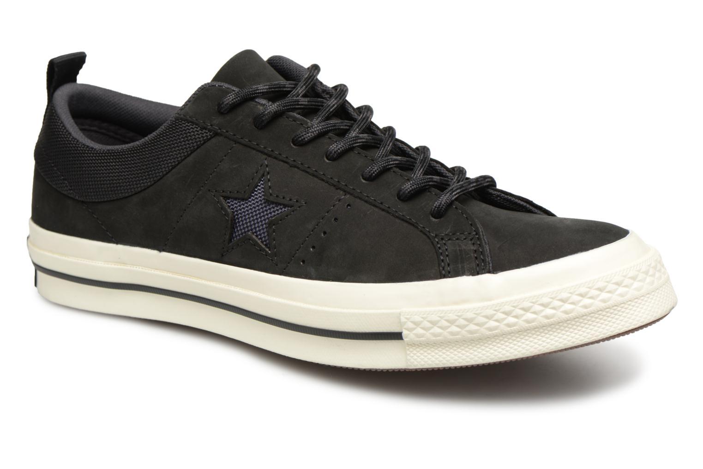 Baskets Converse One Star Ox M Noir vue détail/paire