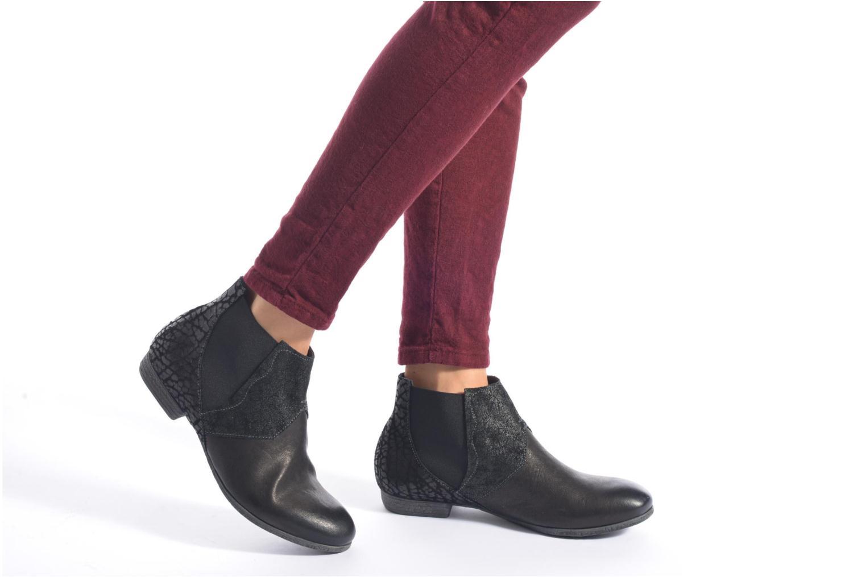 Bottines et boots Think! Ebbs 87132 Noir vue bas / vue portée sac