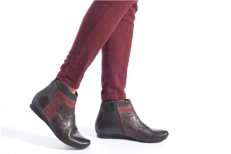 Bottines et boots Think! Chili 87109 Marron vue bas / vue portée sac