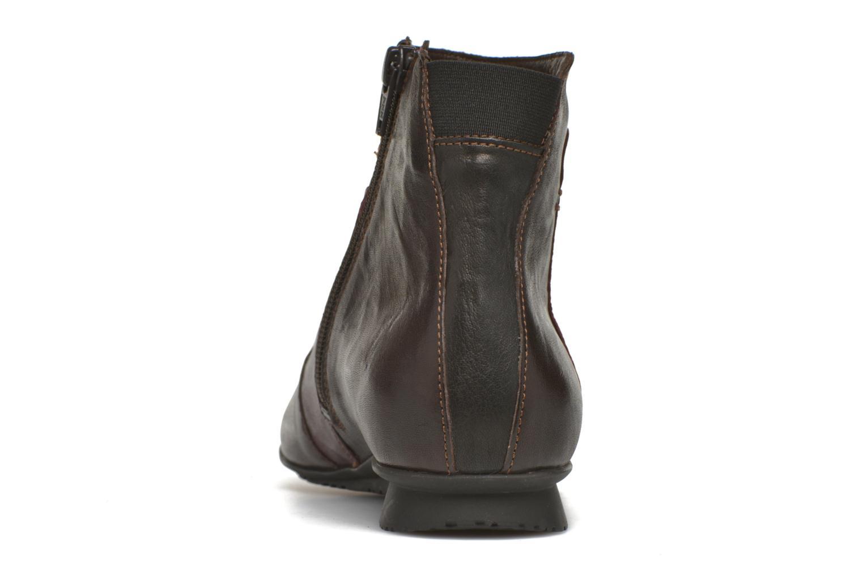 Bottines et boots Think! Chili 87109 Marron vue droite