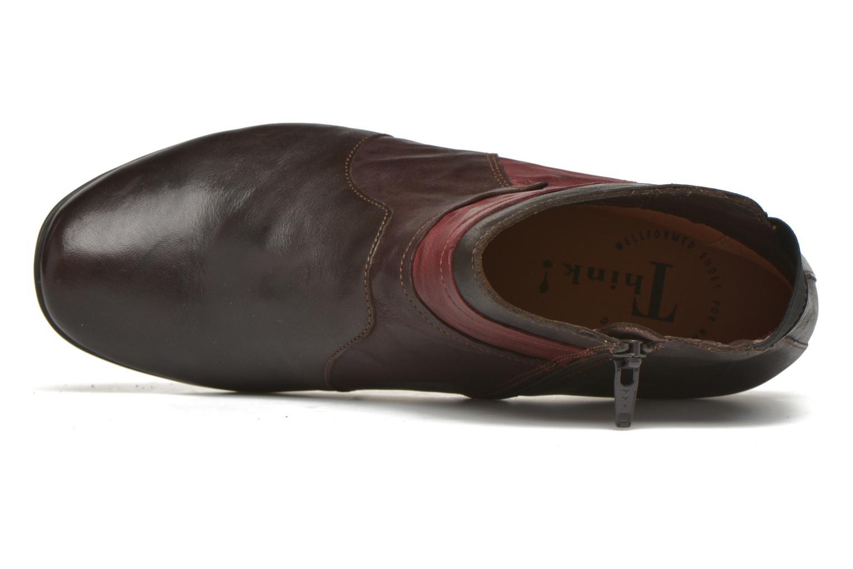 Bottines et boots Think! Chili 87109 Marron vue gauche