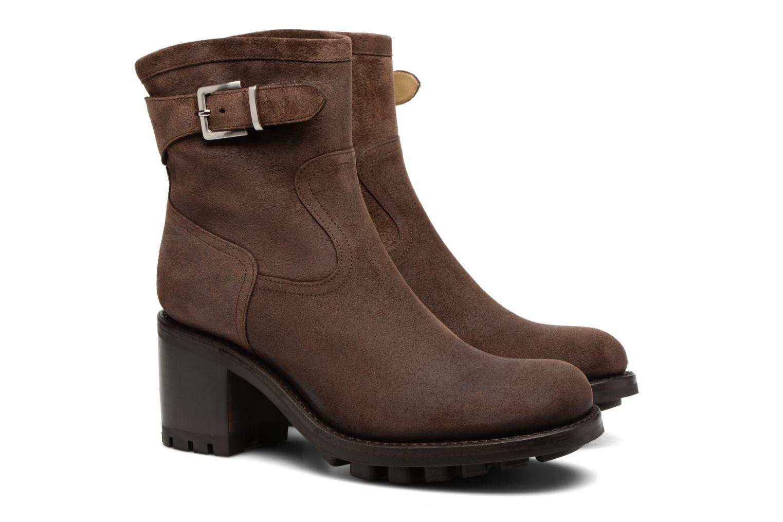 Bottines et boots Free Lance Justy 7 little cavalière Marron vue 3/4